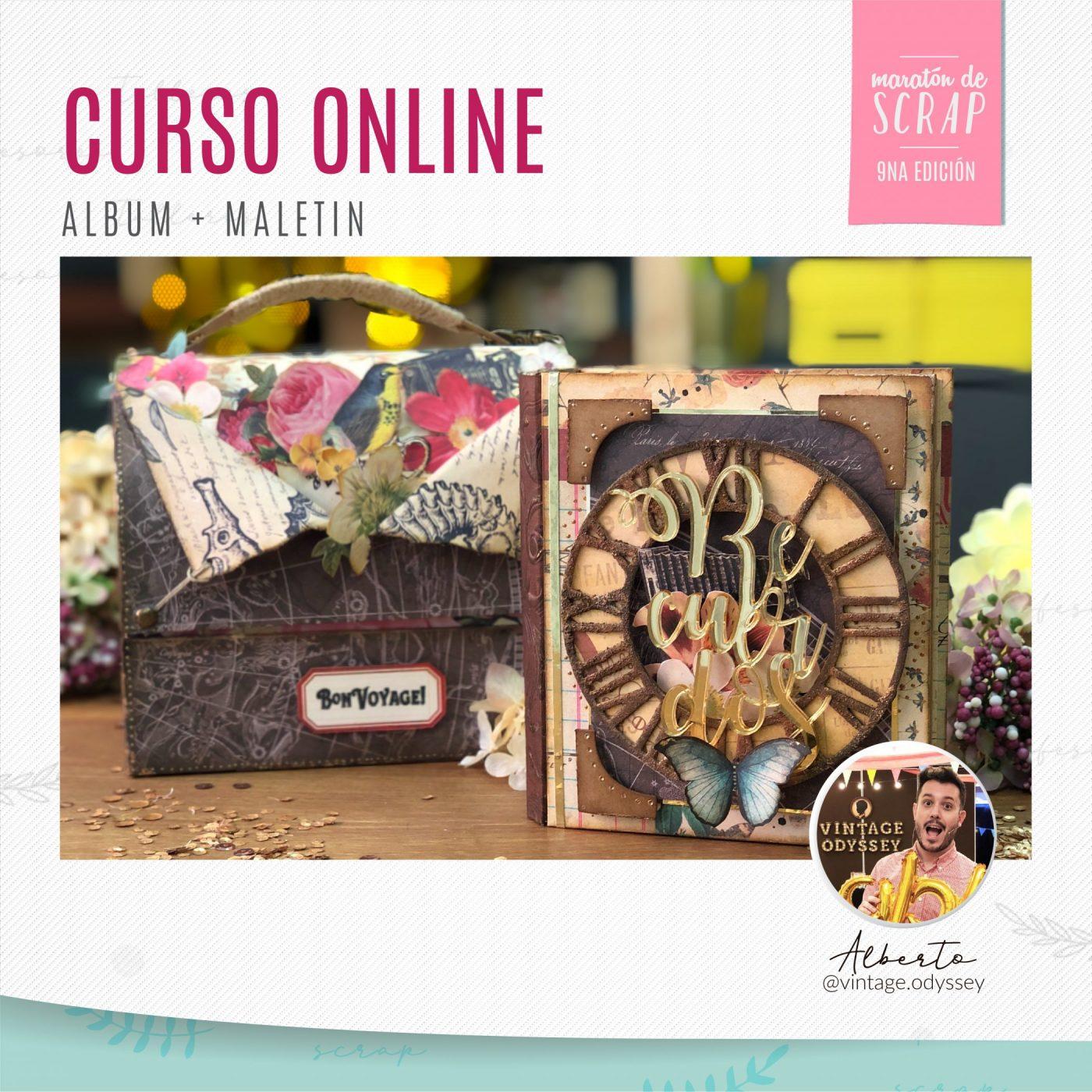 Curso online: Album + Maletín