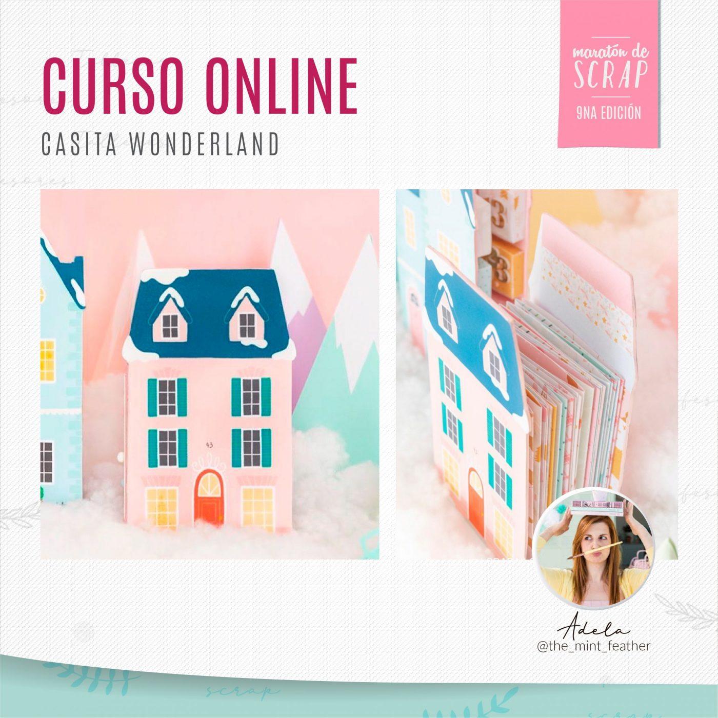 Curso online: Casita Wonderland